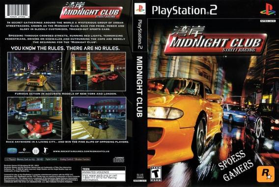Midnight Club 1 2 E 3 Ps2 Coleção (3 Dvds) Patch Carros