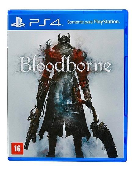 Bloodborne - Ps4 Mídia Física Dublado Br Original Lacrado