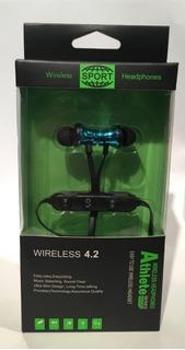 Auriculares Bluetooth Sport Wireless 4.2 Deportivo Earbuds