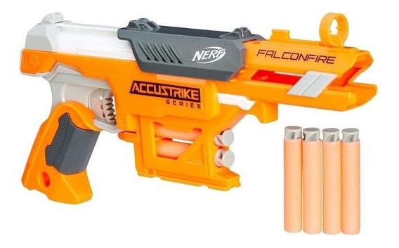 Brinquedo Hasbro Lancador Nerf Accustrike Falconfire B9840