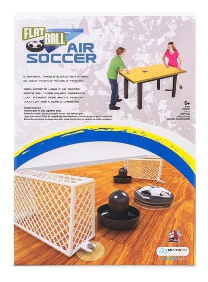 Flat Ball Air Soccer Futebol De Mesa Br373 - Multikids