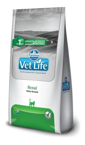 Alimento Gato Feline Renal Vet Life Renal Pollo 2kg