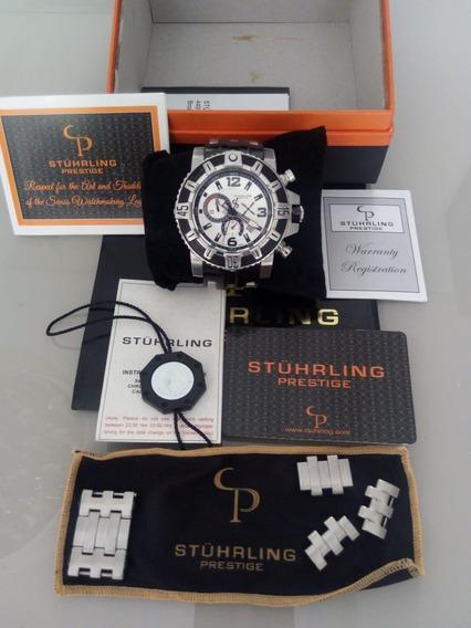 Relógio Stuhrling Prestige Top Muito Conservado