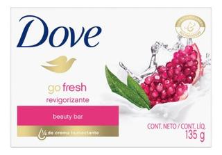 Dove Go Fresh Jabón En Barra Dove Granada Y Verbena X 3u