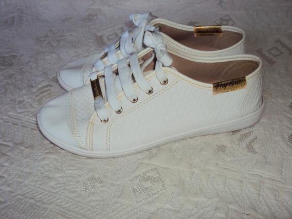 Tenis Moleca Branco Tamanho 35