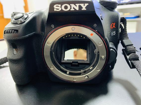 Camera Sony Slt-a65v+lentes Dt55-300sam+ Sigma 18-250mm