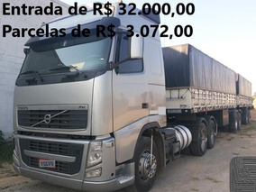 Volvo Fh12 440 Prata I-shift No Bi-trem Randon