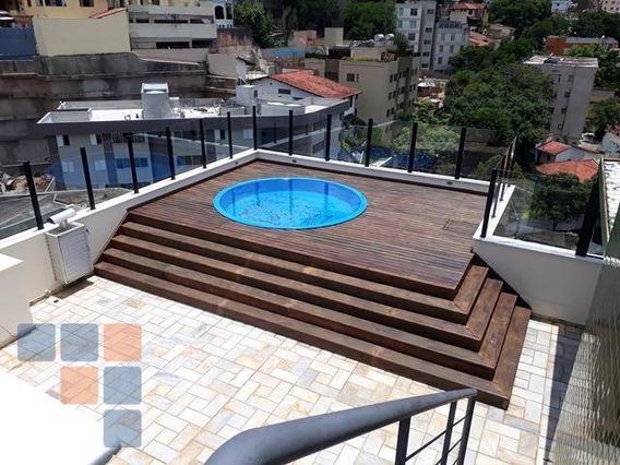 Cobertura Com 4 Dormitórios, 280 M² - Serra - Belo Horizonte/mg - Co0353