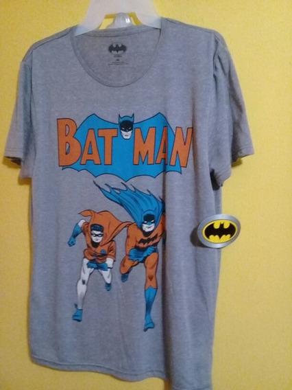 Playera Batman Diseño Vintage Talla M