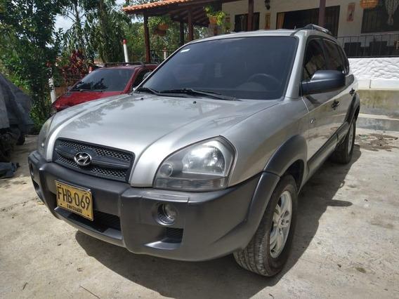 Hyundai Tucson Gl 4x4 2.0 Modelo 2008 Gris Plata 156.000 Kms