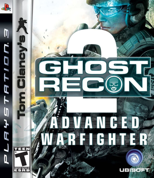 Jogo Ghost Recon 2 Advanced Warfighter Playstation 3 Ps3