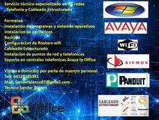 Soporte Técnico Pc, Redes,cableado Estructurado, Telefonía.