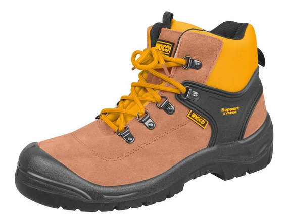 Ff Zapato Bota Trabajo Ingco Puntera Reforzado Industrial