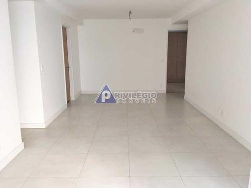 Apartamento À Venda, 3 Quartos, 1 Suíte, Lagoa - Rio De Janeiro/rj - 23621