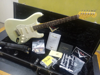 Fender Stratocaster Custom Shop Deluxe 2012 Olympic White