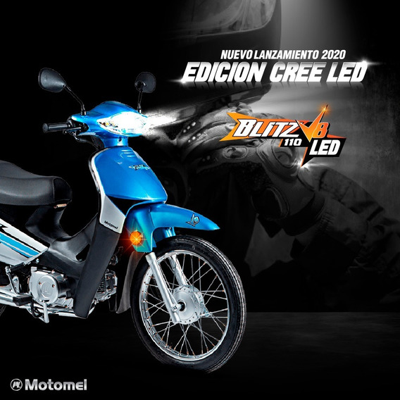 Motomel Blitz 110 V8 Led Edition Lanzamiento Ezclusivo
