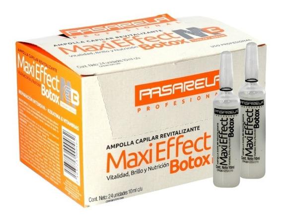 Ampolla Capilar Maxieffect Botox Pasarela X 24