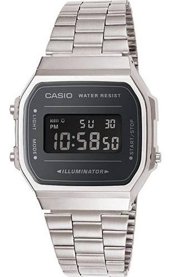 Relógio Casio Vintage Illuminator - A168wem-1df