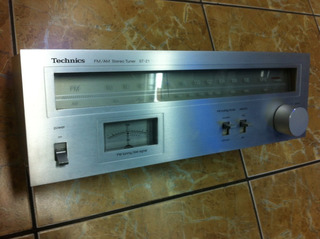 Sintonizador Technics Am Fm Made In Japan St-z1 Año 1980