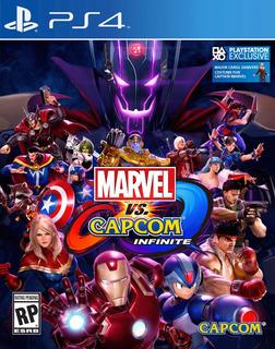 Marvel Vs Capcom Infinite Ps4 Juego Cd Blu-ray Nuevo Original Físico Sellado En Stock Entrega Inmediata