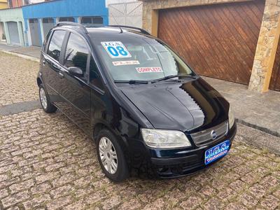 Fiat Idea Elx 1.4 Completo 2008 137.000 Km Preto 4 Portas
