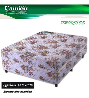 Sommier Cannon Princess 140x190 Neuquén Cipolletti, Plottier