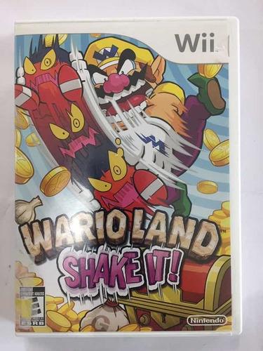 Wario Land Shake It Nintendo Wii