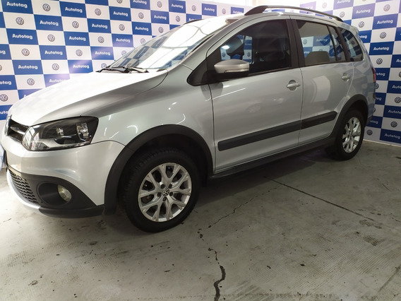 Vw Volkswagen Suran Cross Highline 1.6 2014 Gris #a2 Oport