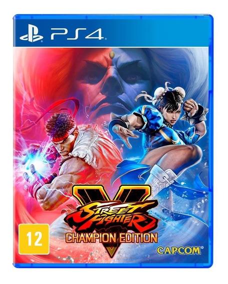 Street Fighter V Champion Edition - Mídia Física - Novo