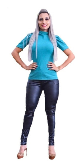 Tshirt Feminina Manga Bufante Canelada Evangelica Princesa