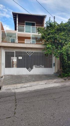Imagem 1 de 28 de Sobrado Com 3 Dormitórios À Venda, 240 M² Por R$ 700.000,00 - Vila Flórida - Guarulhos/sp - So0518