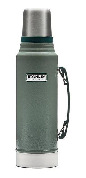 Termo Stanley 1lt Acero Inoxidable C/ Tapon Cebador Verde