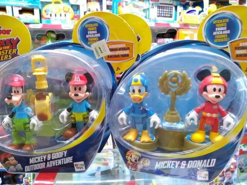 Minnie, Mickey, Donald, Goofy,daisy Pack X Unidad Bunny Toys