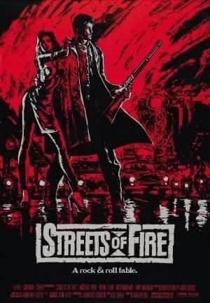 Poster Cartaz Ruas De Fogo #1 - 60x90cm .1
