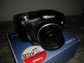 Camera Digital Canon Semi Profissional Com Tripé 14.1 Mega P