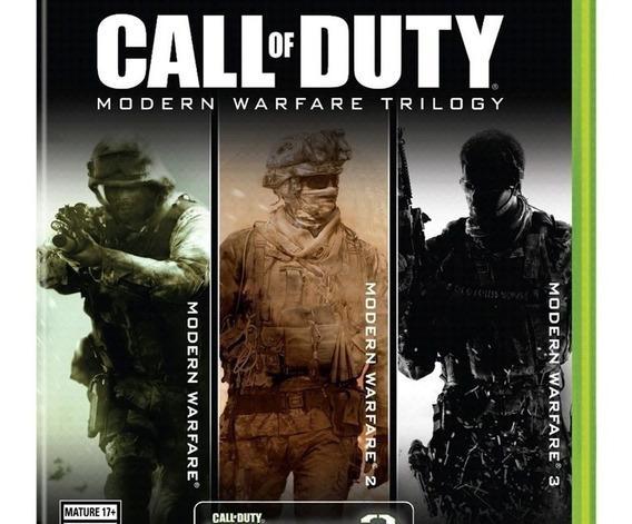 Call Of Duty Pc Modern Warfare Trilogy (mídia Física-pc)