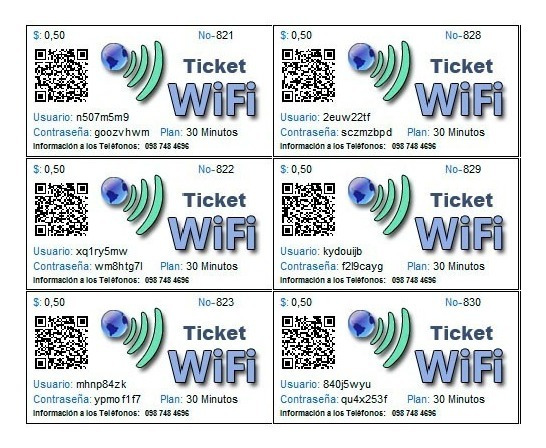 Tickets Prepago Vende Tu Wifi Por Tiempo, Mikrotik Hotspot