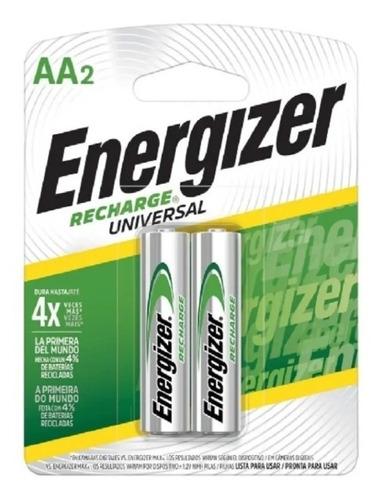 Imagen 1 de 4 de Pilas Energizer Aa Recargable