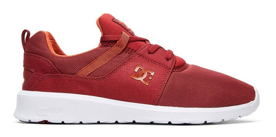 Tenis Hombre Heathrow Adys700071 Mar Dc Shoes Vino