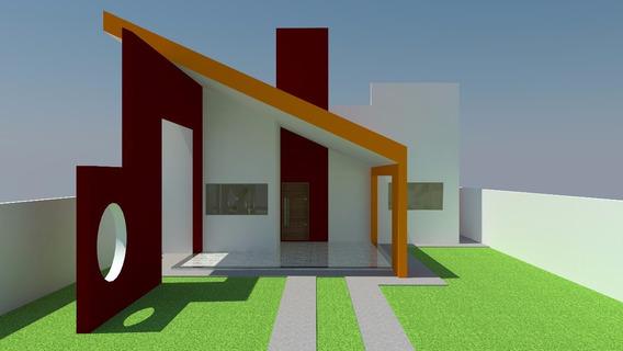 Projeto Arquitetônico, Maquete Eletrônica 3d, Fachada Fronta