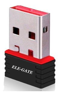 Tarjeta Red Inalambrica Wifi Usb Nano 150m 802.11n Ele-gate