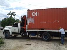 Alq. Camiones Plataforma Brazo Hidráulico, Grúa Telescópica
