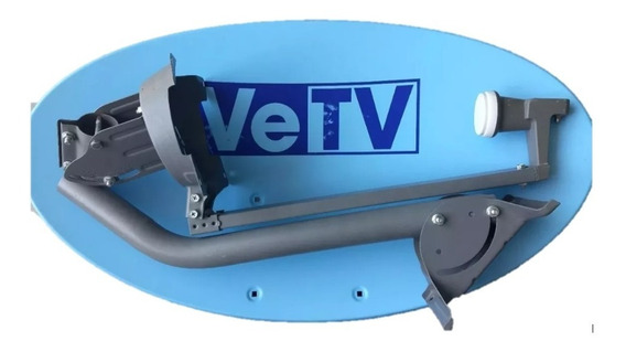 Antena Eliptica Compatible Vetv, Vetv Hd, Sky, Sky Hd
