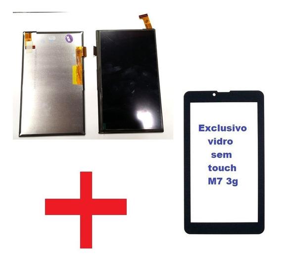 Display Touch + Vidro Tablet Multilaser M7 3g Plus Ml-so01