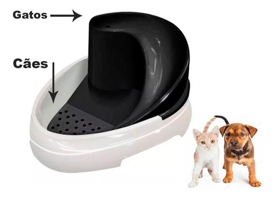 Bebedouro Felino Canino Caes Gatos Fonte Tobo Fonte Automático Cães E Gatos - Mec Pet - Bivolt - Bebedouro Oferta