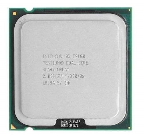 Intel Dual Core E2180 2.00ghz 800mhz 1mb Lga 775