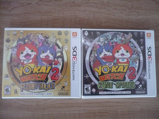 Nintendo 3ds Yo Kai Watch 2 Nuevo