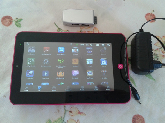 Tablet Dl A7 Rosa