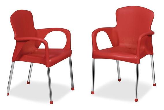 1 Cadeira Poltrona Varanda Churrasco Cozinha N388