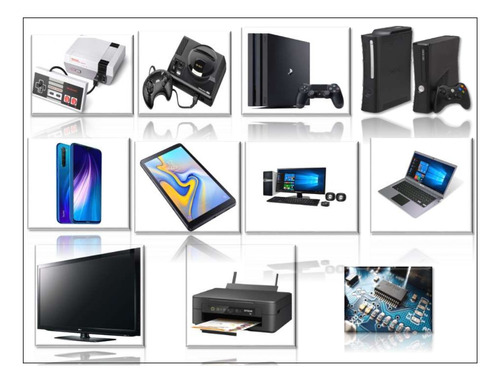 Curso De Reparación:celulares-tablet-tv-pc-impresoras-play.s
